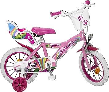 Toimsa 14111 Fantasy - Bicicleta de 14 pulgadas (4-6 años ...