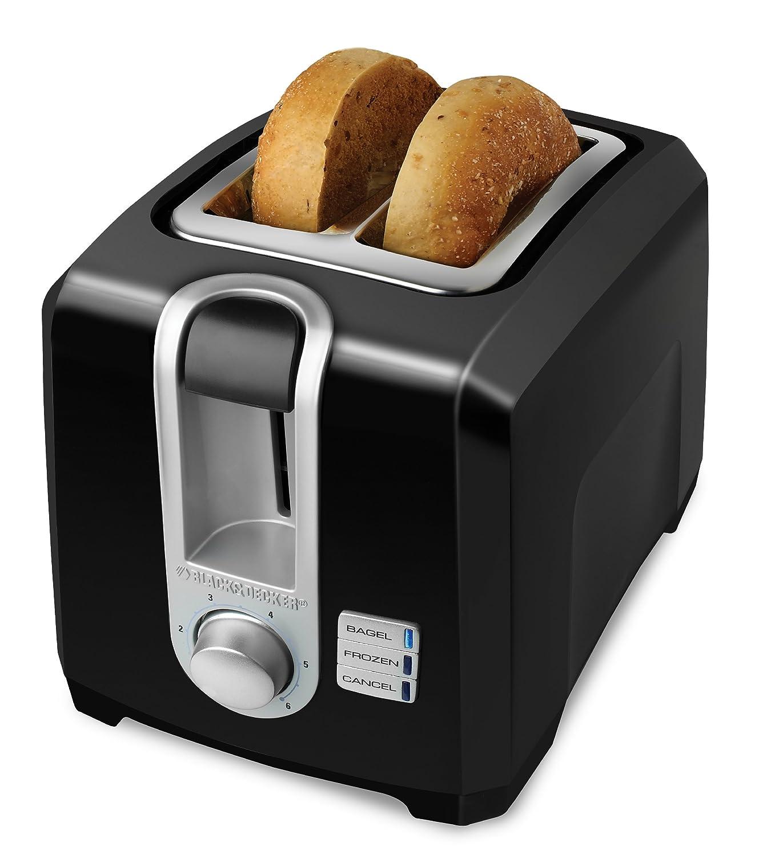 BLACK+DECKER 2 Slice Toaster, Black, T2569BC Black & Decker
