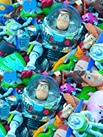 GIANT TOY STORY TOYS COLLECTION BUZZ LIGHTYEAR WOODY JESSIE HAM MCDONALDS POWER RANGER