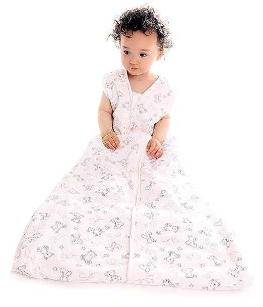 54 opinioni per Slumbersac Sacco a pelo invernale 2.5 tog per bambini 90cm/6-18 mesi- Little