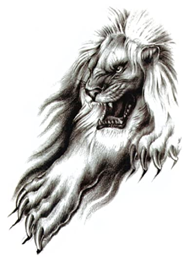 Amazon Com Lion Large 8 25 Half Sleeve Arm Tattoo Wholesale In