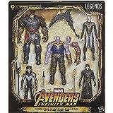 Marvel Legends Series Kit com 5 Figuras de 15 cm - The Children of Thanos - Exclusivo Amazon - F0766 - Hasbro