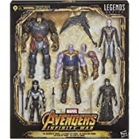 Marvel Legends Series Kit com 5 Figuras de 15 cm - The Children of Thanos - Exclusivo Amazon - F0766 - Hasbro
