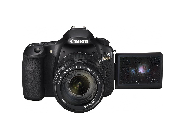Camera Canon 20da Dslr Camera amazon com canon eos 60da 18 0 mp cmos digital astrophotography slr camera with 3 inch vari angle lcd photo