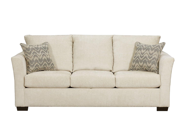 Amazon.com: Simmons Upholstery Elan Coffee Sofa, Chocolate ...