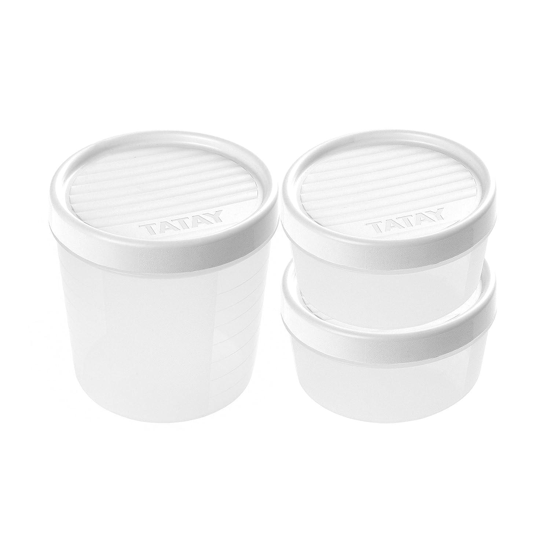 TATAY 1169400 - Set di contenitori per alimenti con chiusura a vite Tatay_1169400