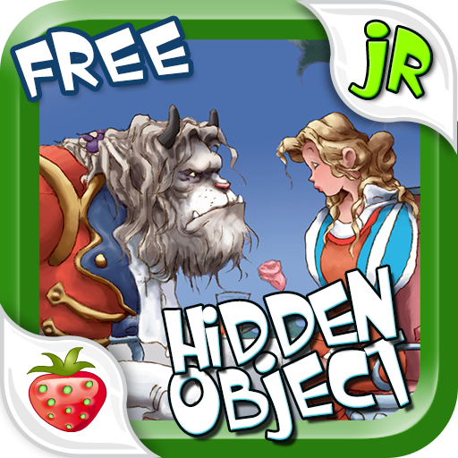 Hidden Object Game Jr FREE - Beauty and the Beast (Beauty And The Beast Hidden Object Game)