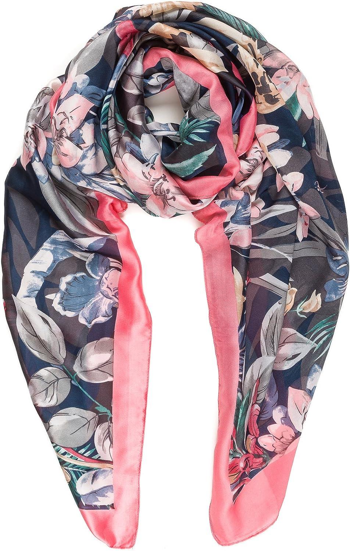 Scarf Lightweight Silk Feel...