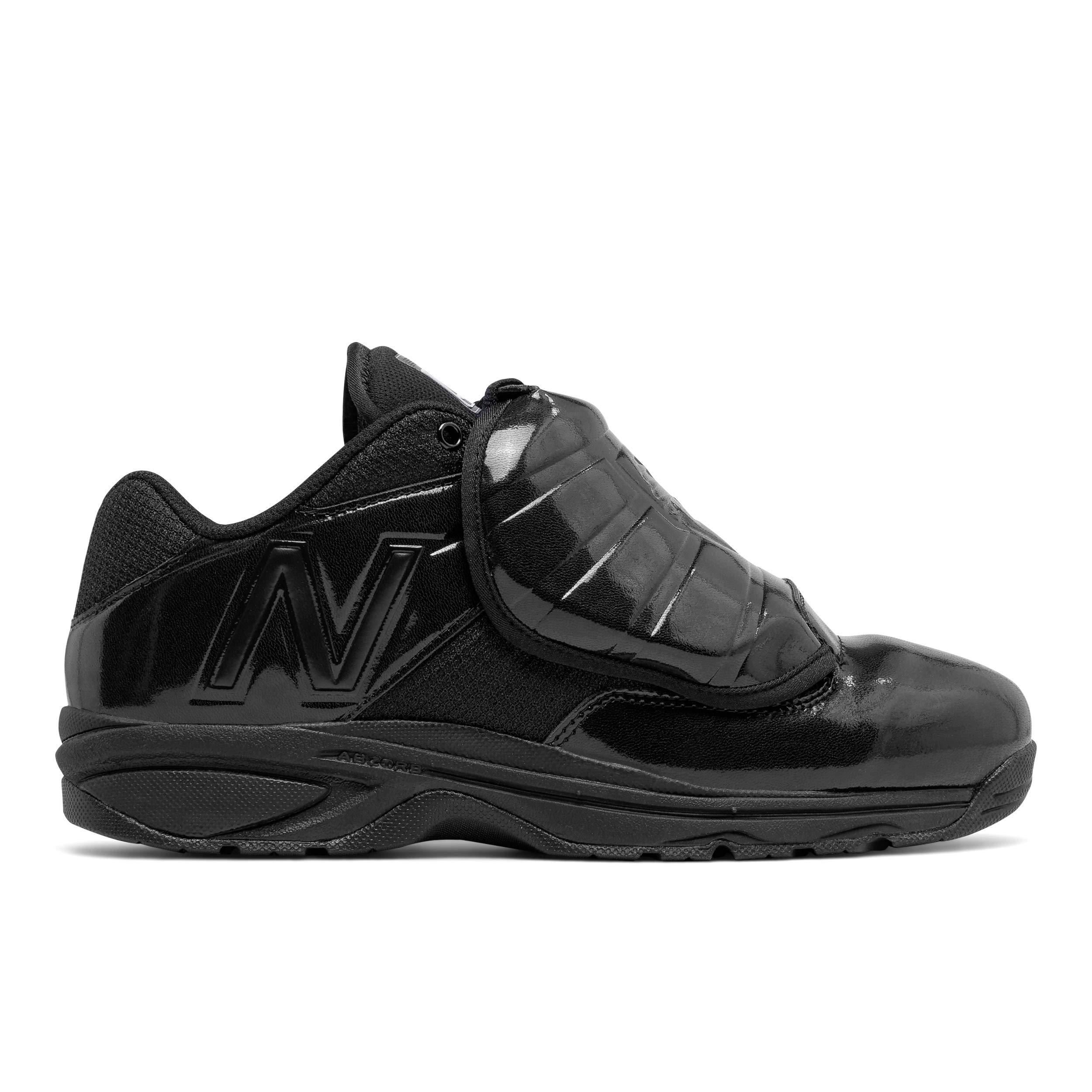 New Balance Men's MUL460K3 Umpire Baseball Shoe, Black/Black, 9.5 D US by New Balance