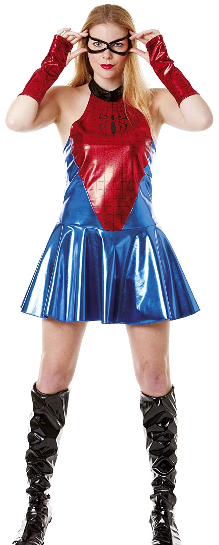 Cesar Disfraz De Spider Girl Mujer Arana Para Mujer Adulto - Disfraz-de-araa-casero