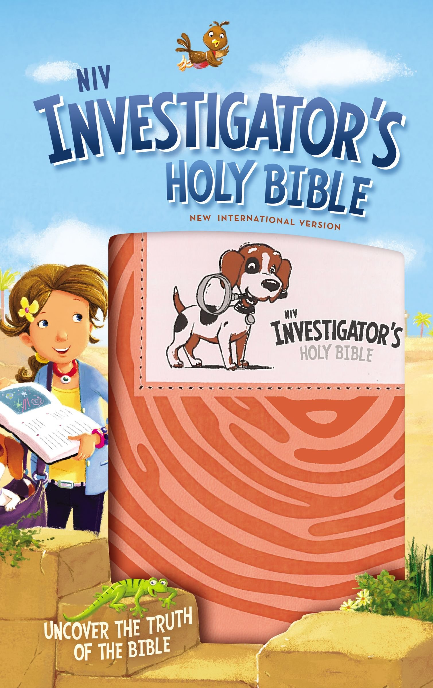 Download NIV, Investigator's Holy Bible, Leathersoft, Coral: Uncover the Truth of the Bible pdf