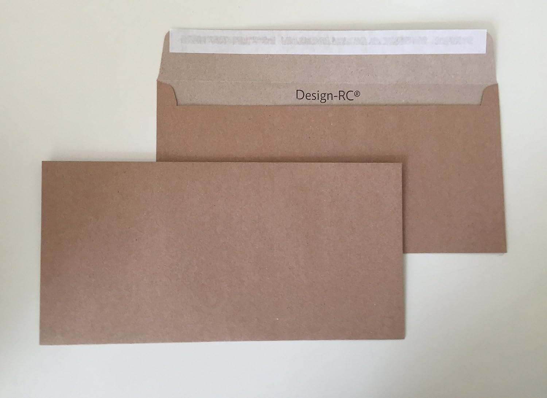 100 Enveloppes Motif RC/® 229 x 114 mm avec bande adh/ésive en papier recycl/é C6//5 enveloppes sans fen/être