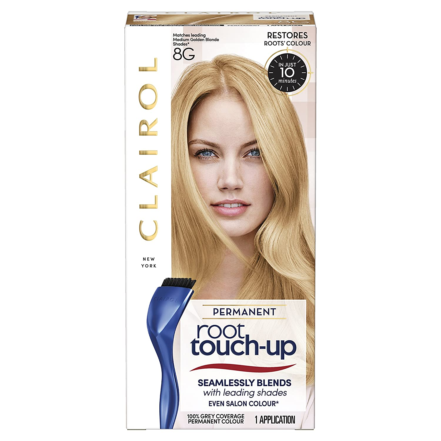 Clairol Root Touch Up Permanent Hair Dye 6 Light Brown Coty 81644647