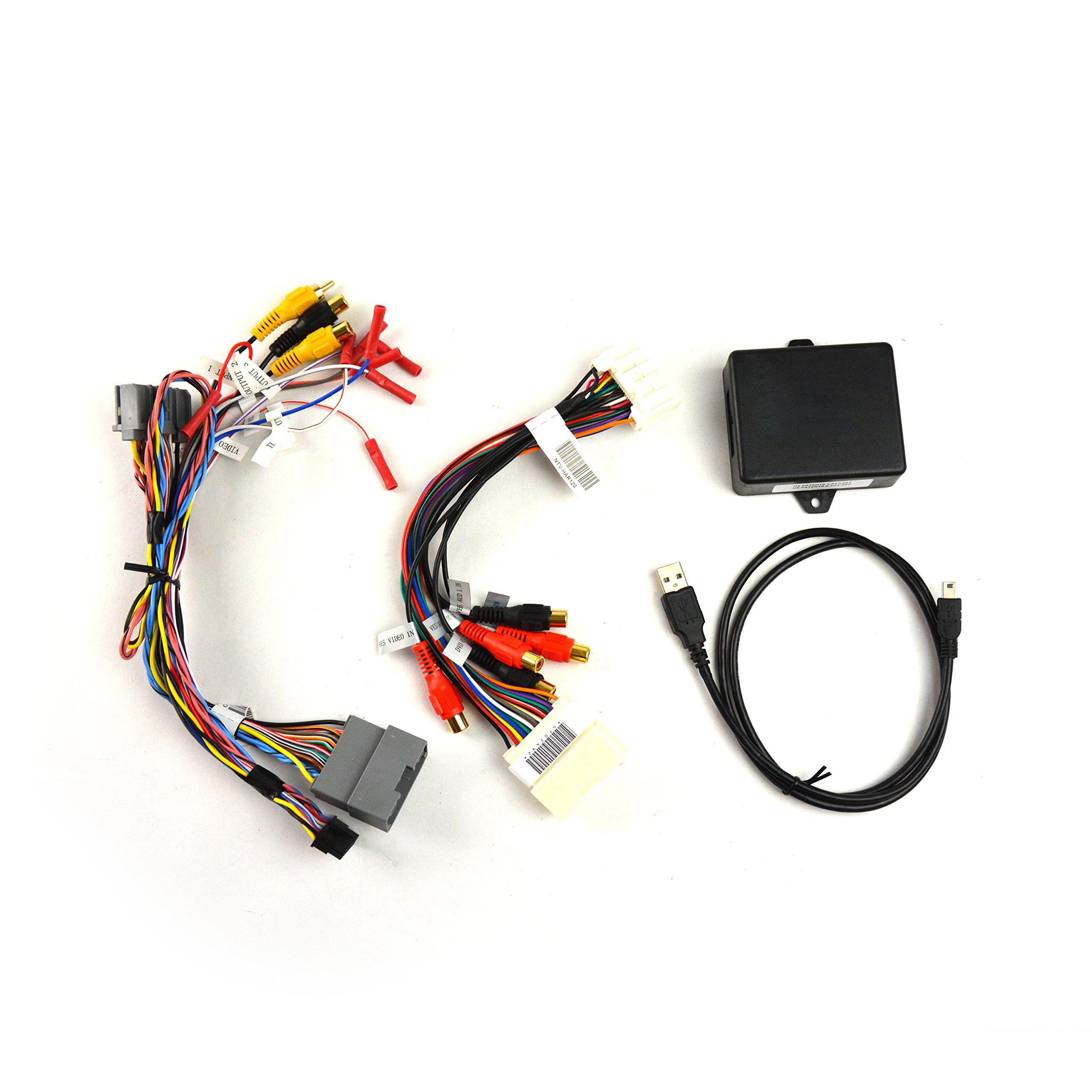 Brandmotion 9002-2782V2 Dual Camera Interface for 6.1'' MyGig Display Radios in Select Jeep, Dodge & Chrysler Vehicles