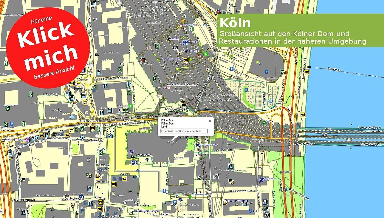 Profi Outdoor Topo Karte Passend f/ür Garmin GPS 60 60Csx 60Cx GPSMap 60 Europa V.19 64x,64sx