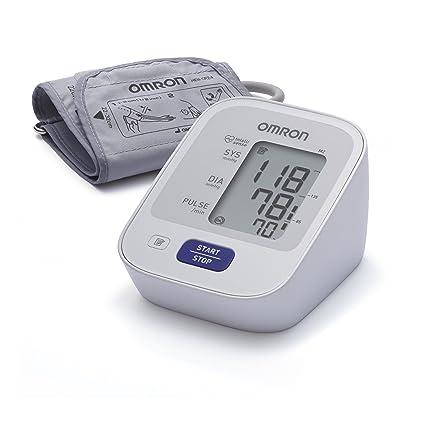 OMRON M2 - Tensiómetro de brazo, detección del pulso arrítmico, tecnología Intellisense para dar lecturas de presión arterial rápidas + Adaptador Corriente ...