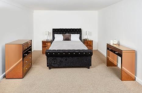 Set di mobili per camera da letto 2 Draw consolle a specchio, 2 x ...