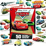 Disney Cars Temporary Tattoos Party Favor Set (50 Temporary Tattoos)