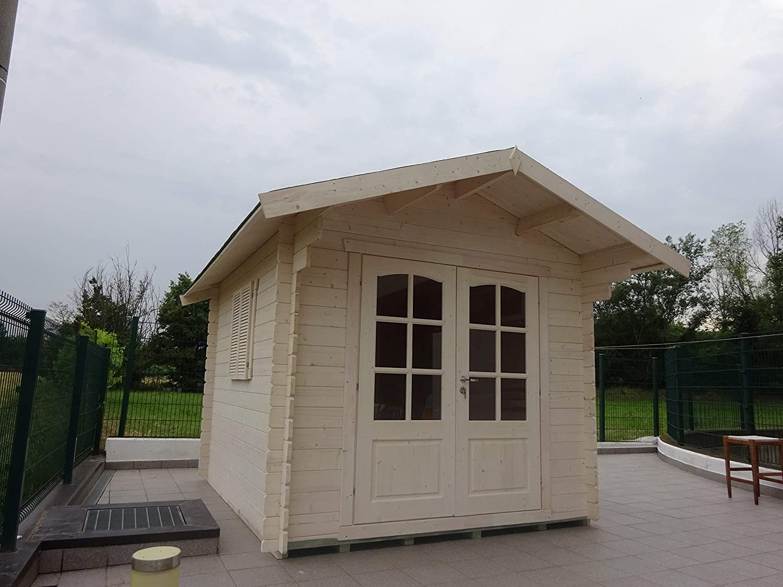 DEKALUX kiosco caseta de Madera de jardín de 2, 5 X 3 : Amazon.es: Jardín