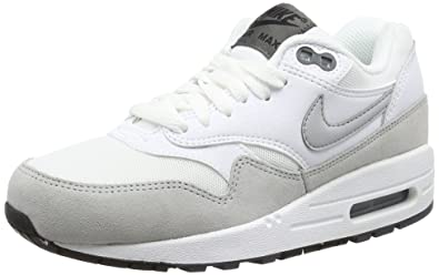 newest 61476 40ba2 Image Unavailable. Image not available for. Colour  NIKE, Women, Trainers,  wmns air max 1 essential, (white grey