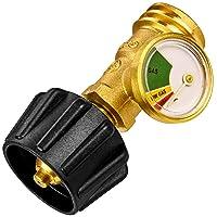 Flame King Propane Tank Gauge Level Indicator Leak Detector