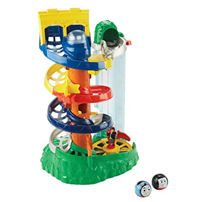 Thomas & Friends Fisher-Price My First, Rail Rollers Spiral Station: Toys & Games