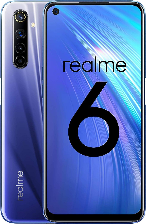 "realme 6 – Smartphone de 6.5"", 4 GB RAM + 128 GB ROM, Procesador ..."