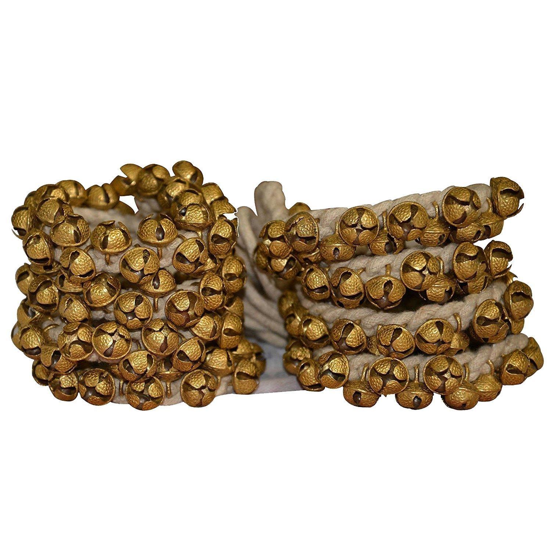 KATHAK GHUNGROO 1.6 cm Dancing Bells Anklets (100 Bell Pair) Ghungroo Kathak anklet women dance accessories