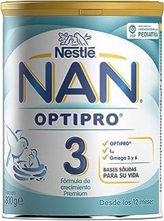 NAN OPTIPRO 3 - A partir de los 12 meses - Fórmula de crecimiento en polvo