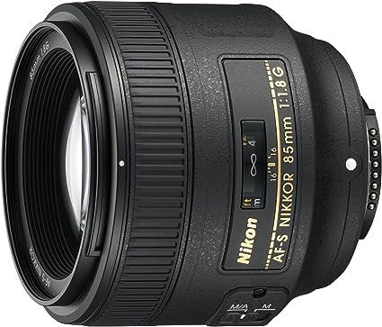 Nikon Af S Nikkor 85mm F 1 8g Objektiv Schwarz Nital Kamera