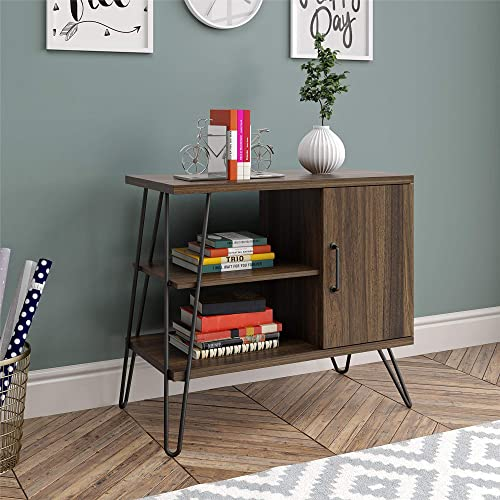 Ameriwood Home Haven 3 Shelf, Walnut Bookcase