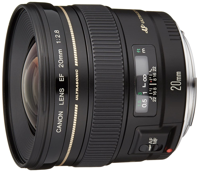 Canon 単焦点レンズ EF20mm F2.8 USM フルサイズ対応   B0000ACCMT