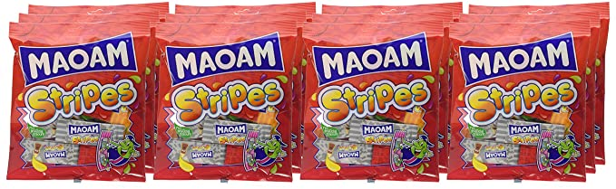 The Cheapest Price Maoam Stripes Chews X 25 Ideal Party Bag Fillers Easy To Lubricate Food & Beverages