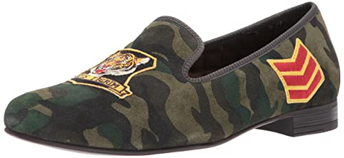 072b79d9559 Polo Ralph Lauren Willard Loafer Olive Camo 8 D(M) US  Amazon.in ...