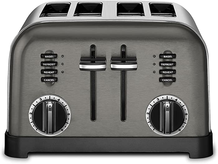 Top 9 Black 4 Slot Toaster