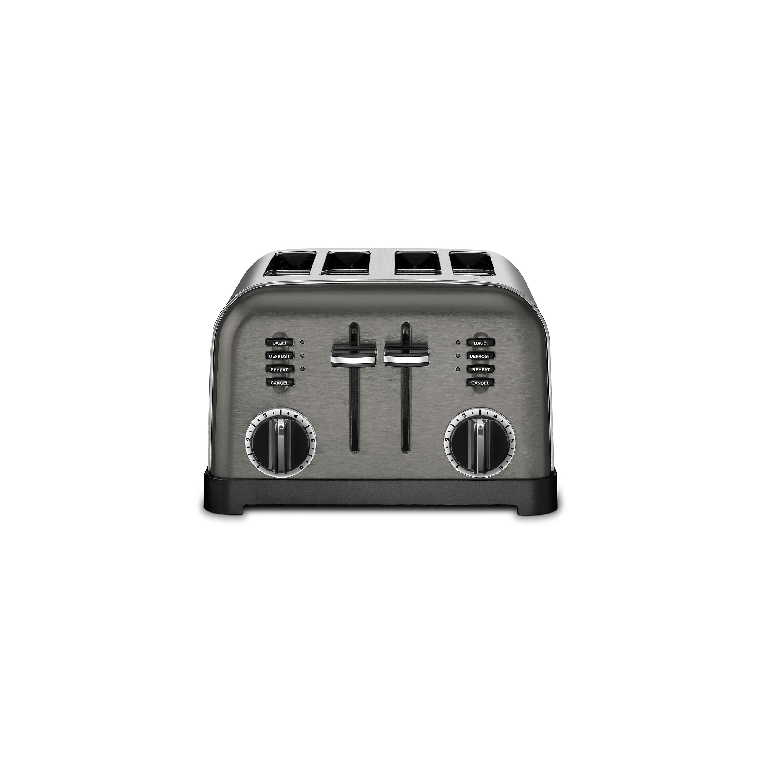 Cuisinart CPT-180BKS Metal Classic Toaster, 4-Slice, Black Stainless by Cuisinart