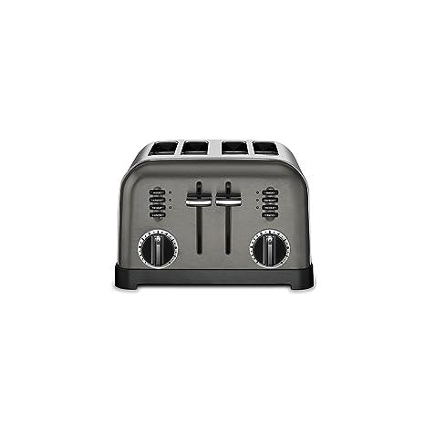 Amazon.com: Cuisinart - Tostadora clásica de metal con 4 ...