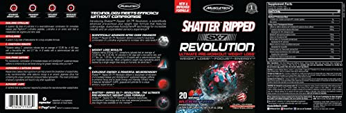 MuscleTech Shatter Ripped SX-7 Revolution