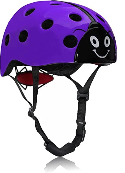 Dostar niños cascos de bicicleta Multi-Sport ajustable diseño de ...