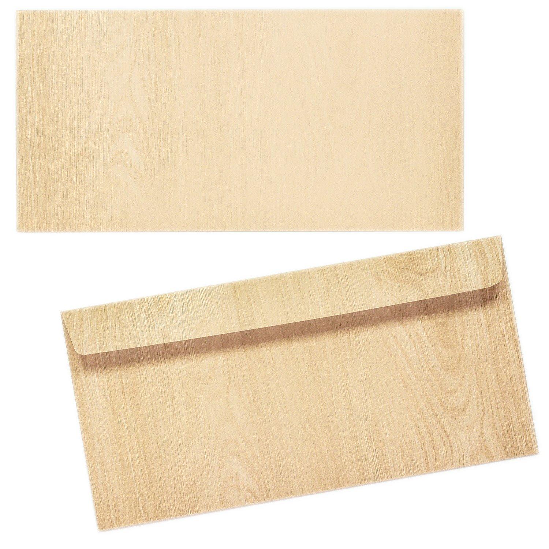 Briefumschläge HOLZ MADEIRA 1000 Stück DIN DIN DIN lang Umschlag strukturiert Maserung haftklebend MIT Fenster B06W5PHGL7 | Günstigen Preis  | Viele Sorten  | Vorzüglich  4a7bff