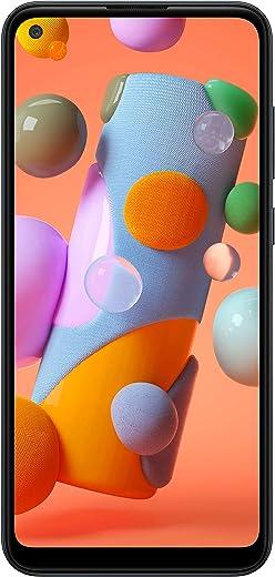 "Samsung Galaxy A11 LTE Verizon   6.4"" Screen   32GB of Storage   Long Lasting Battery   Single SIM   2020 Model   US Version & Warranty  Black - (SM-A115UZKAVZW)"