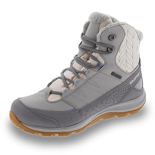 SalomonKaïna Mid GTX - Zapatillas de Trekking y Senderismo de Media caña Mujer, Color Blanco, Talla 8 1/2: Salomon: Amazon.es: Zapatos y complementos