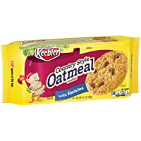 Deals on 12 Count Keebler Country Style Oatmeal Cookies 10.1 Oz