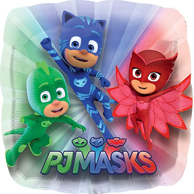 Amazon.com: Mayflower Products The Ultimate PJ MASKS 2nd Birthday Party Supplies and Balloon decorations: Toys & Games