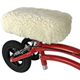 KneeRover Universal Knee Walker Knee Rest Pad Cover - Plush Synthetic Sheepette Pad for Rolling Scooter