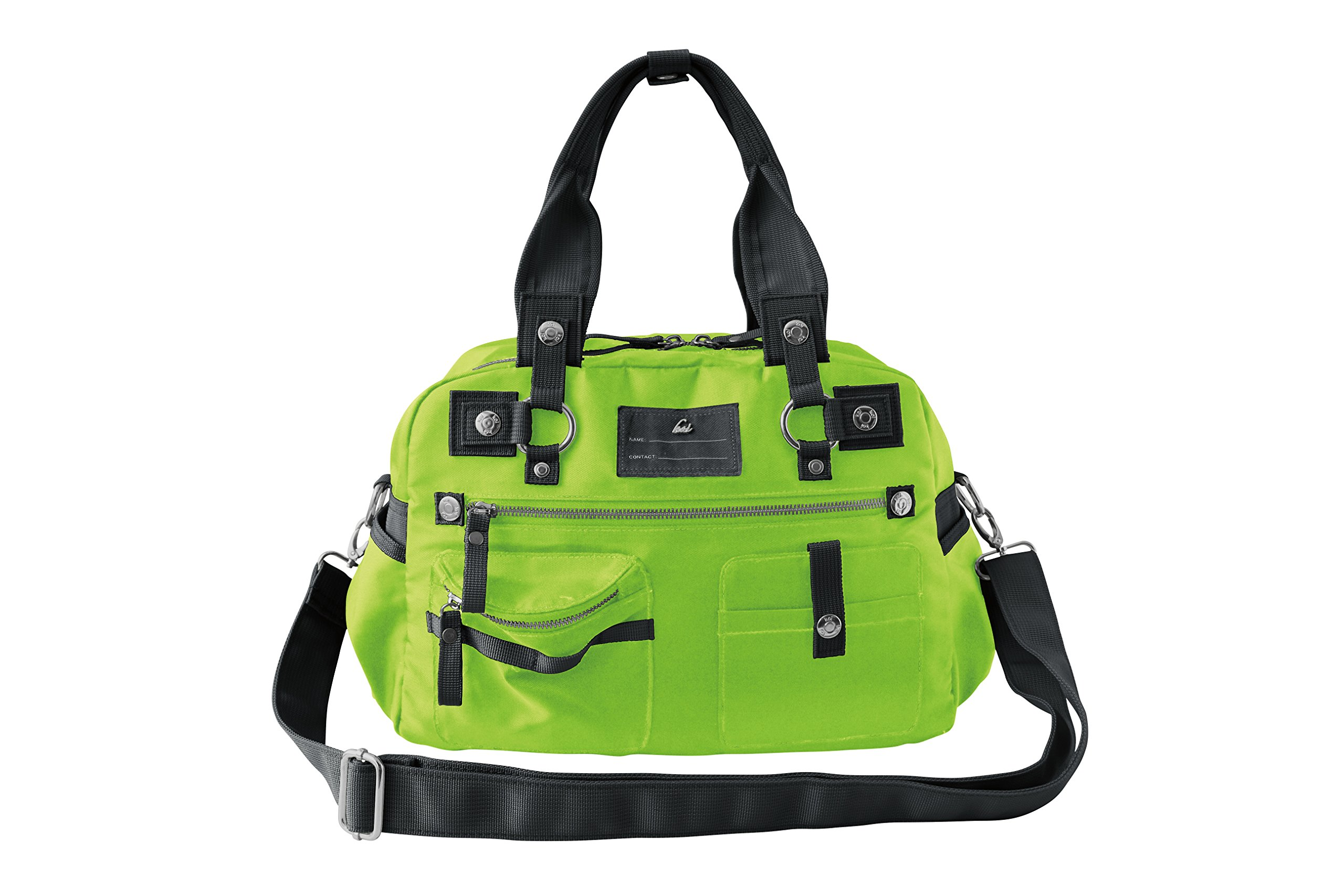 Koi Women's Utility Bag Versatile and Fashionable with Lots Of Pockets (Medium, Green) by KOI