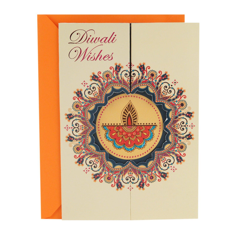 Amazon Hallmark Diwali Card Diwali Wishes Office Products
