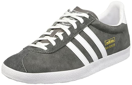 adidas Gazelle OG, Women\u0027s Trainers, Grey (Ash/Ftwr White/Gold Met