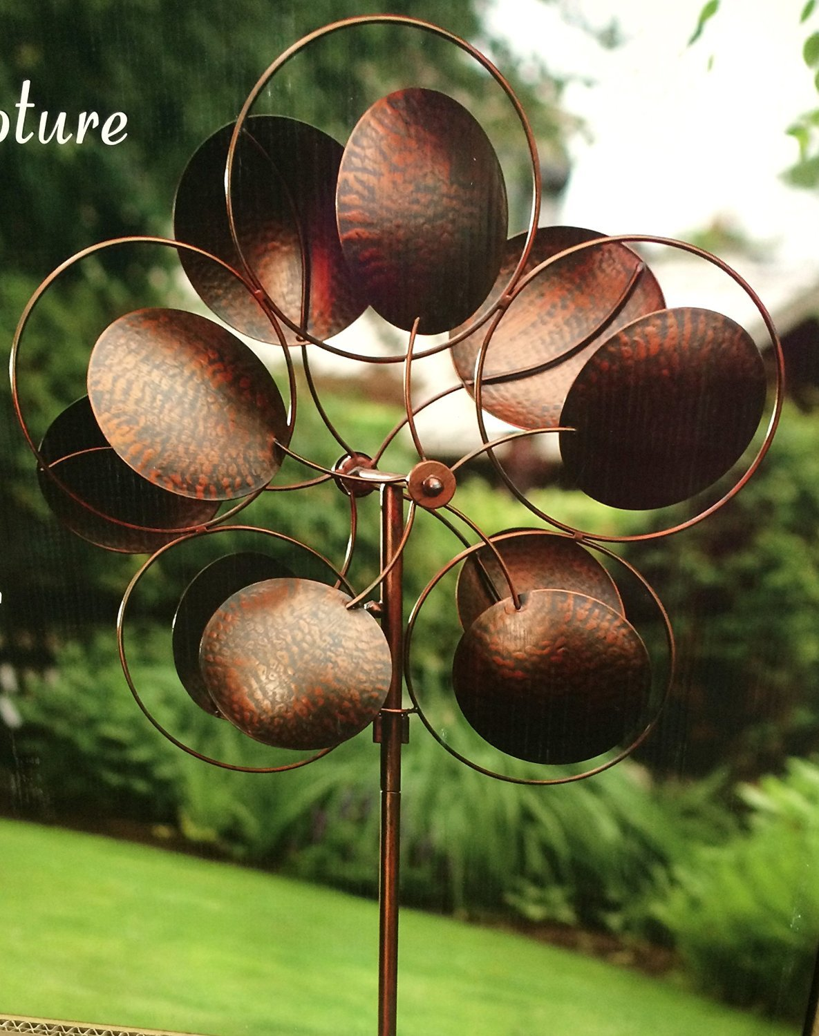 Amazon.com : Style Craft Kinetic Wind Sculpture - Large 24.5 ...