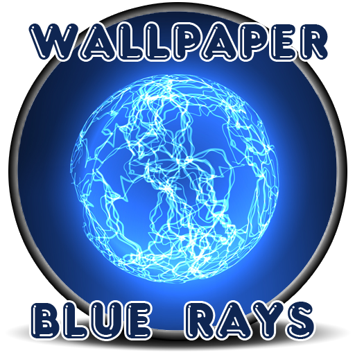 Wallpaper Blue Rays - Email Ray